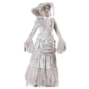 Nwt incharacter ghostly lady adult costume size M